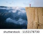 preikestolen   amazing rock in...   Shutterstock . vector #1152178730