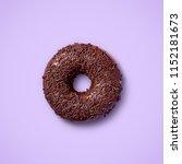 Chocolate Glazed Donut With...