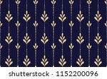flower geometric pattern.... | Shutterstock .eps vector #1152200096