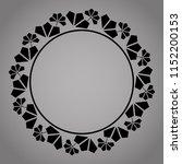decorative frame elegant vector ... | Shutterstock .eps vector #1152200153