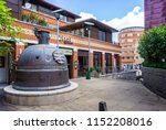 town centre regeneration of... | Shutterstock . vector #1152208016