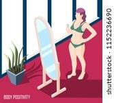 body positivity movement... | Shutterstock .eps vector #1152236690