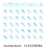 collection of vector flat icons ... | Shutterstock .eps vector #1152238586
