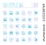 collection of vector flat icons ... | Shutterstock .eps vector #1152238769