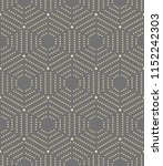 geometric repeating vector... | Shutterstock .eps vector #1152242303