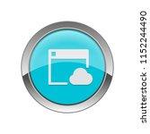 cloud browsing   app icon | Shutterstock .eps vector #1152244490