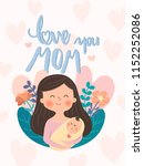 Mothers Day Card Illustration....