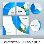 cd envelope  dvd case design.... | Shutterstock .eps vector #1152254816