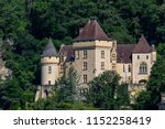 la roque gageac. france. 06.19... | Shutterstock . vector #1152258419
