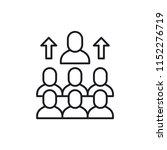 workforce modern simple vector... | Shutterstock .eps vector #1152276719