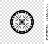 wheel vector icon | Shutterstock .eps vector #1152300773