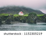 Lonely Icelandic House With Re...