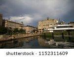 rijeka  croatia on the 15th of...   Shutterstock . vector #1152311609