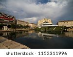 rijeka  croatia on the 15th of...   Shutterstock . vector #1152311996