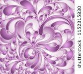 silk texture fluid shapes ... | Shutterstock .eps vector #1152315830