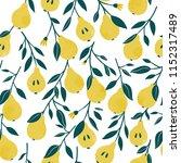 ute vector seamless pattern... | Shutterstock .eps vector #1152317489