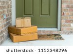 Package Delivery On Doorstep....