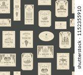 vector seamless pattern on the... | Shutterstock .eps vector #1152355910