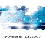 abstract background technology... | Shutterstock .eps vector #115236970