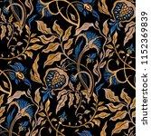 exotic seamless vector... | Shutterstock . vector #1152369839