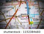 waldo. ohio. usa on a map   Shutterstock . vector #1152384683
