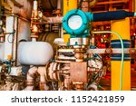 pressure transmitter  and... | Shutterstock . vector #1152421859