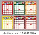 Blank Bingo Cards  Vector...