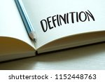 Definition Word  Business Concep