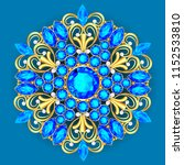 illustration  brooch pendant... | Shutterstock .eps vector #1152533810