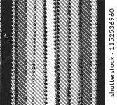 black and white grunge stripe... | Shutterstock .eps vector #1152536960