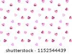 heart pattern background | Shutterstock .eps vector #1152544439