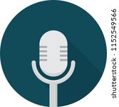 microphone icon design | Shutterstock .eps vector #1152549566