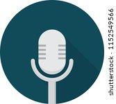 microphone icon design | Shutterstock .eps vector #1152549566