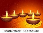 vector illustration of holy... | Shutterstock .eps vector #115255030