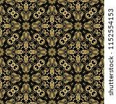 orient vector classic pattern....   Shutterstock .eps vector #1152554153