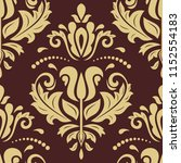 orient vector classic brown and ...   Shutterstock .eps vector #1152554183