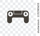 controller vector icon isolated ... | Shutterstock .eps vector #1152585653