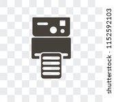 instant camera vector icon... | Shutterstock .eps vector #1152592103