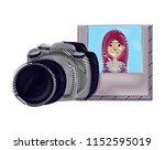 photographic camera design   Shutterstock .eps vector #1152595019