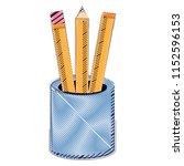 holder cup design   Shutterstock .eps vector #1152596153