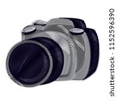 photographic camera design   Shutterstock .eps vector #1152596390