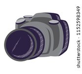 photographic camera design   Shutterstock .eps vector #1152598349
