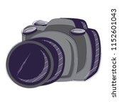 photographic camera design   Shutterstock .eps vector #1152601043