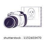 photographic camera design   Shutterstock .eps vector #1152603470