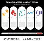5 vector icons such as plaster  ... | Shutterstock .eps vector #1152607496