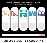 5 vector icons such as hook ... | Shutterstock .eps vector #1152610493
