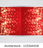 abstract christmas background.... | Shutterstock .eps vector #115264318