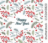 Vector Christmas Card With Pin...
