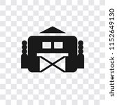 barn vector icon isolated on... | Shutterstock .eps vector #1152649130