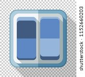electric light switch icon in... | Shutterstock .eps vector #1152660203